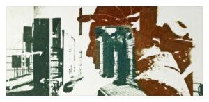 Future City, A Hat GP51, greetings card